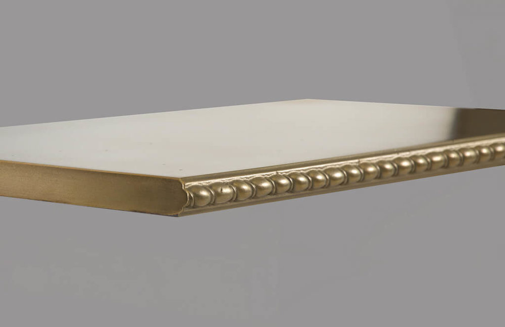 St. Johns Metal Edge Profile in Brass
