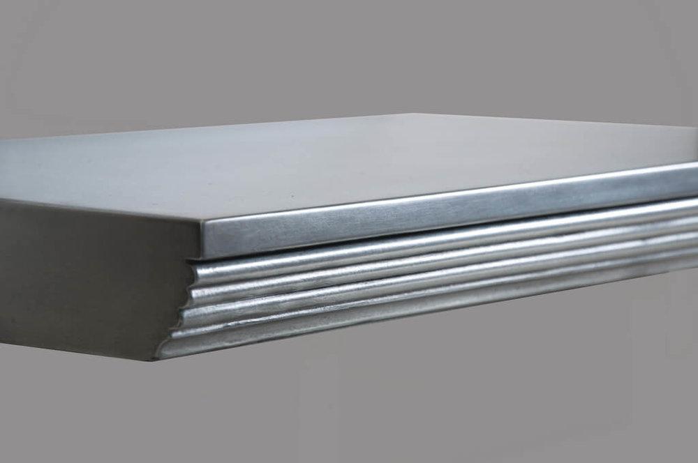 Stratton Metal Edge Profile in Zinc