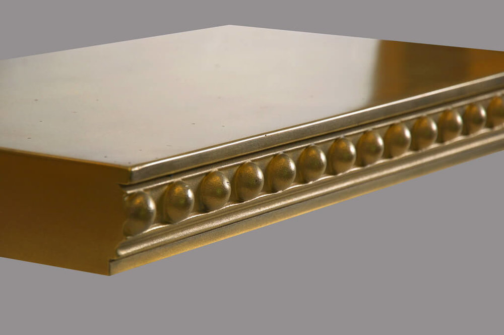 Londonderry Metal Edge Profile in Brass