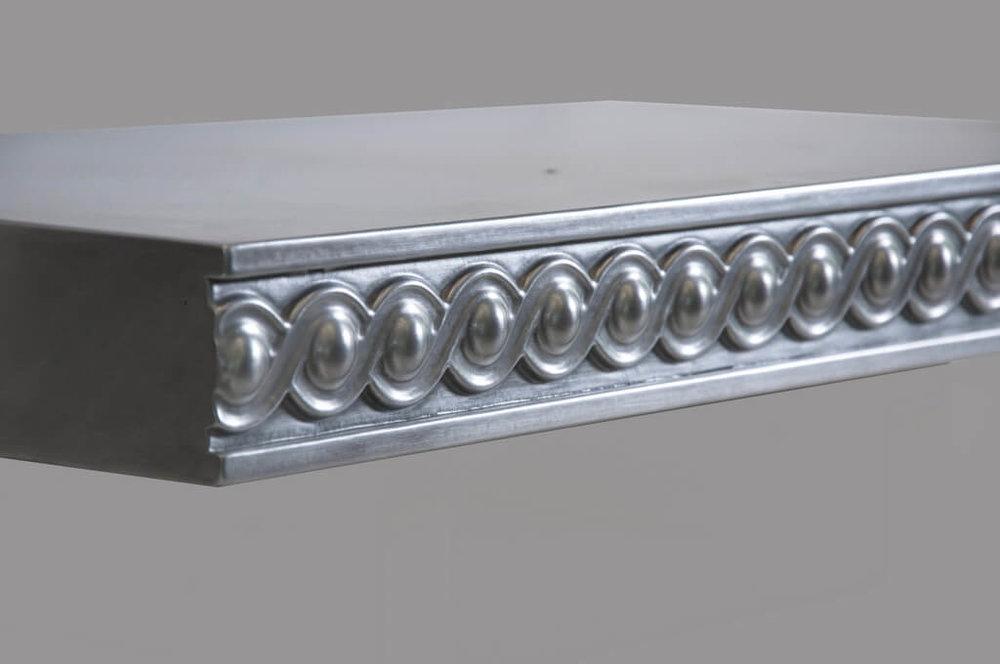 Dorset Style Artisan Cast Metal Edge Profile in Zinc
