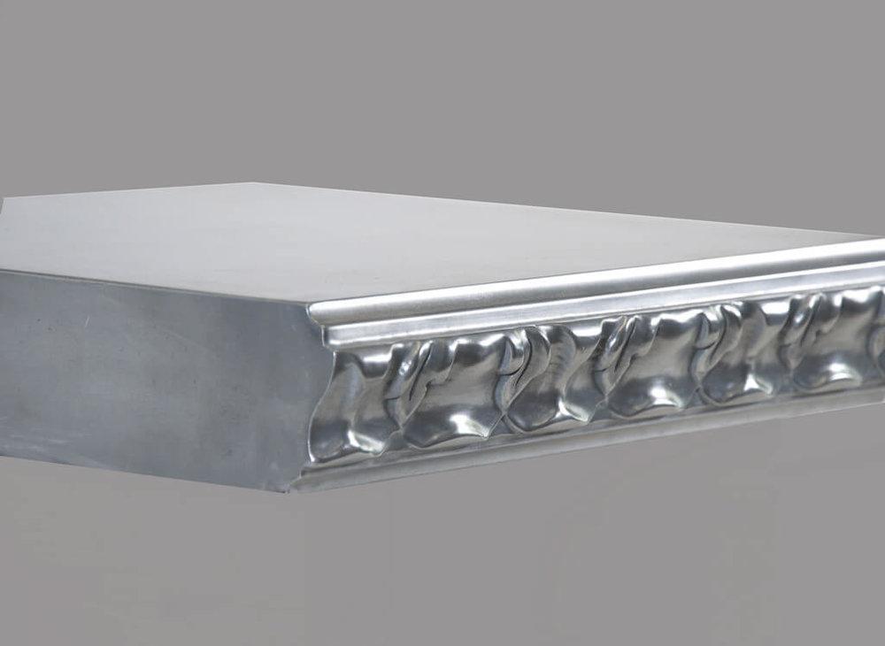 Acanthus Style Metal Edge Profile in Aluminum
