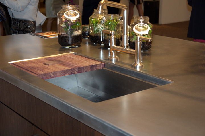 Bistro Collection Metal Countertops