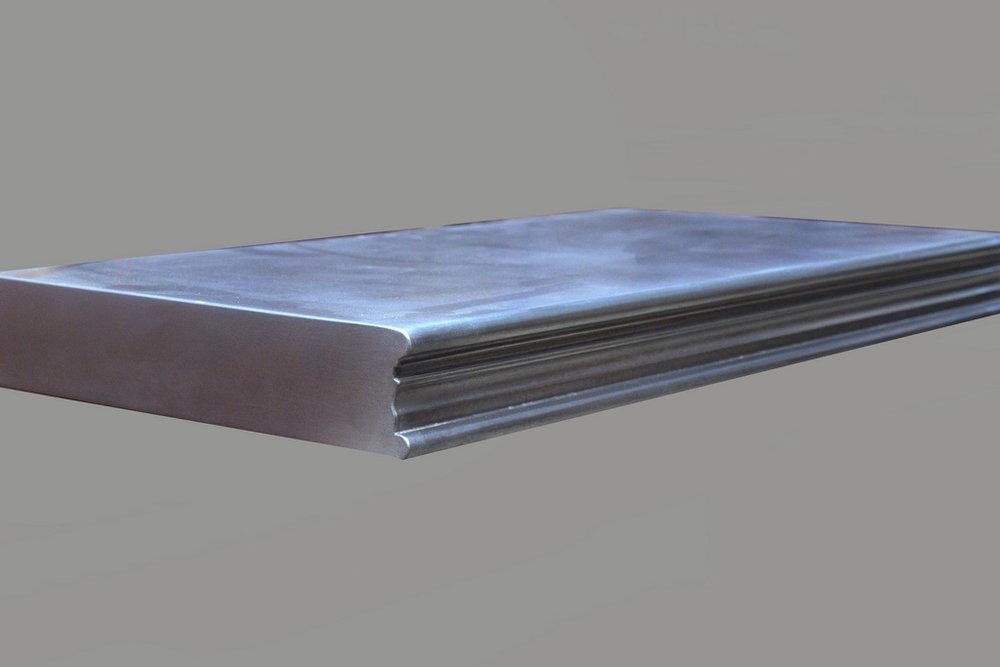 Carnegie Metal Edge Profile in Zinc