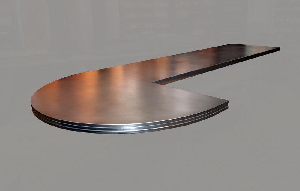 Artisan Cast Zinc Countertop