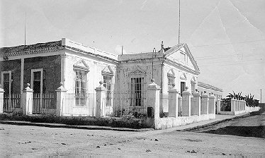 Santa Isabel Hospital in Cárdenas, Cuba where Trinitarian fathers had a chaplaincy.
