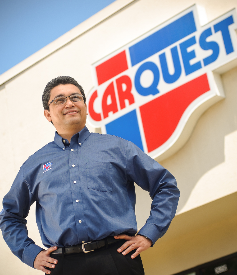 CarQuest Annual Report  Photography Team Members Portrait