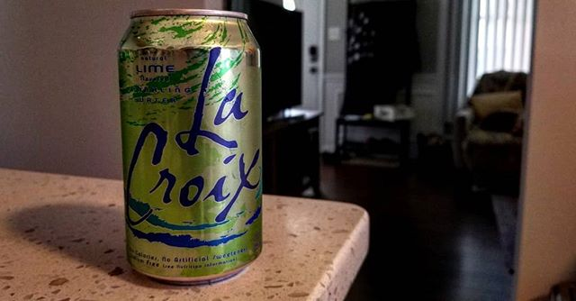 My sun & stars. What would I do without you LaCroix Lime?  #truelove #lacroix #bubbles