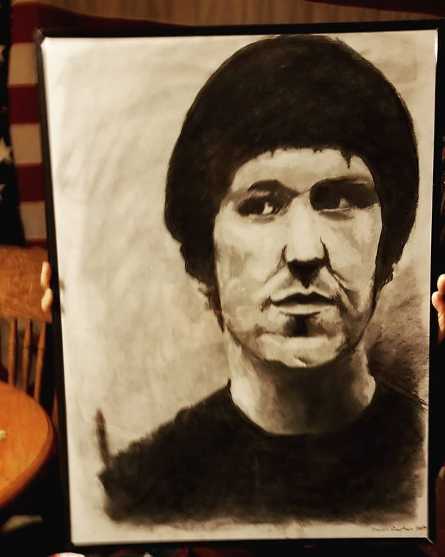 Look at this lovely bday present I was lucky to receive.  #elliottsmith #singersongwriter #needleinthehay #betweenthebars