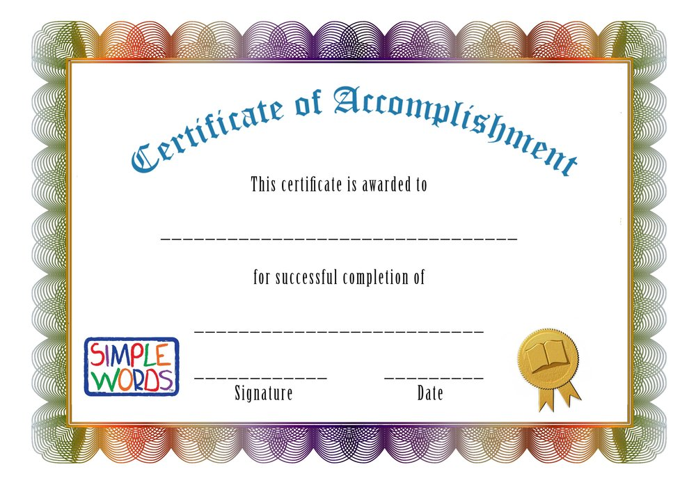 certification of accomplishmentgGeneric.jpg