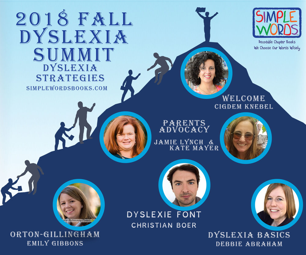 FREE ONLINE DYSLEXIA SUMMIT FOR PARENTS AND TEACHERS