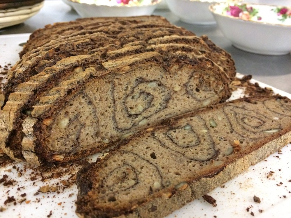 Gluten Free Sourdough Spiral Loaf