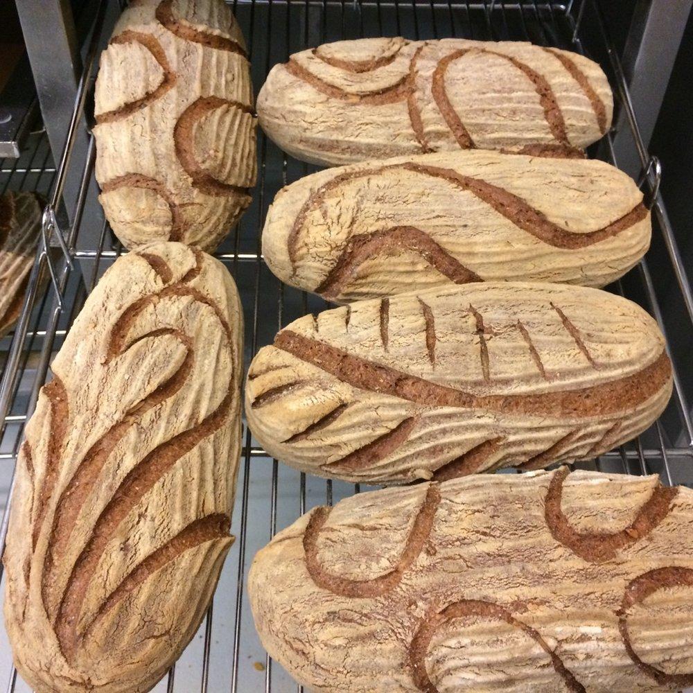 Gluten Free Vegan Sourdough Loaves