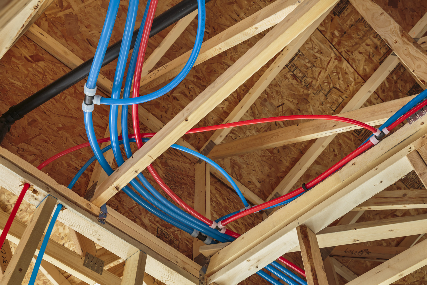 drop pin pex problems with and plumbing tubing