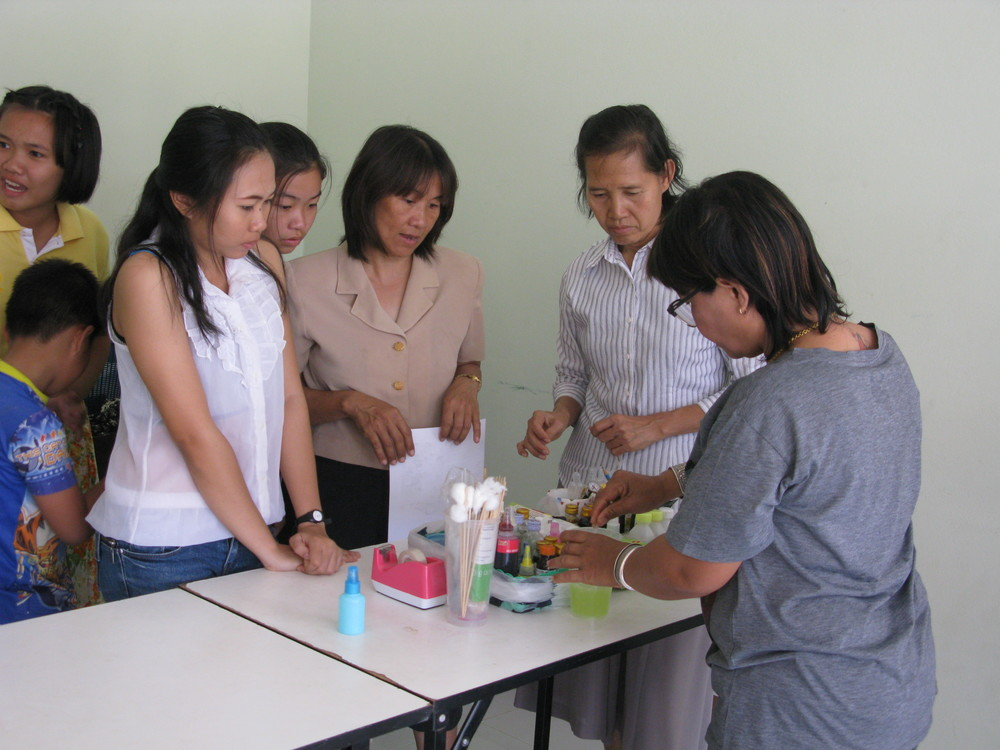 Women from Southeast Asia who produce some of our soaps!