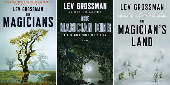 The Magicians series, Lev Grossman.jpg