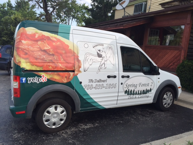 We deliver catering orders!