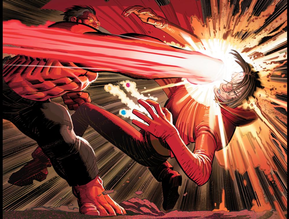 GET REKT. Avengers, vol. 4, #12 art by John Romita, Jr.