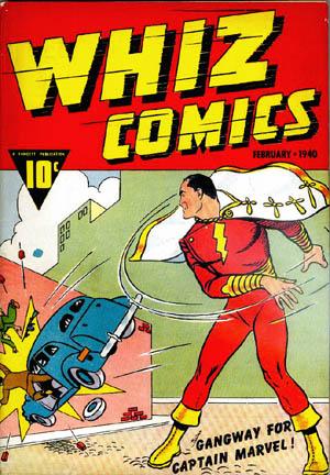 Whiz Comics#2, art by C. C. Beck