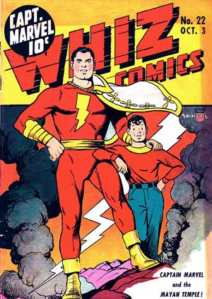Whiz Comics#22, art by C. C. Beck