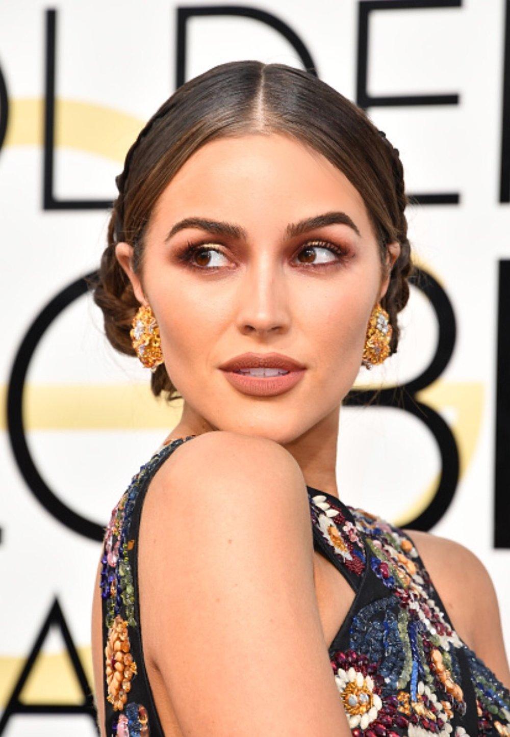 Olivia Culpo Golden Globes