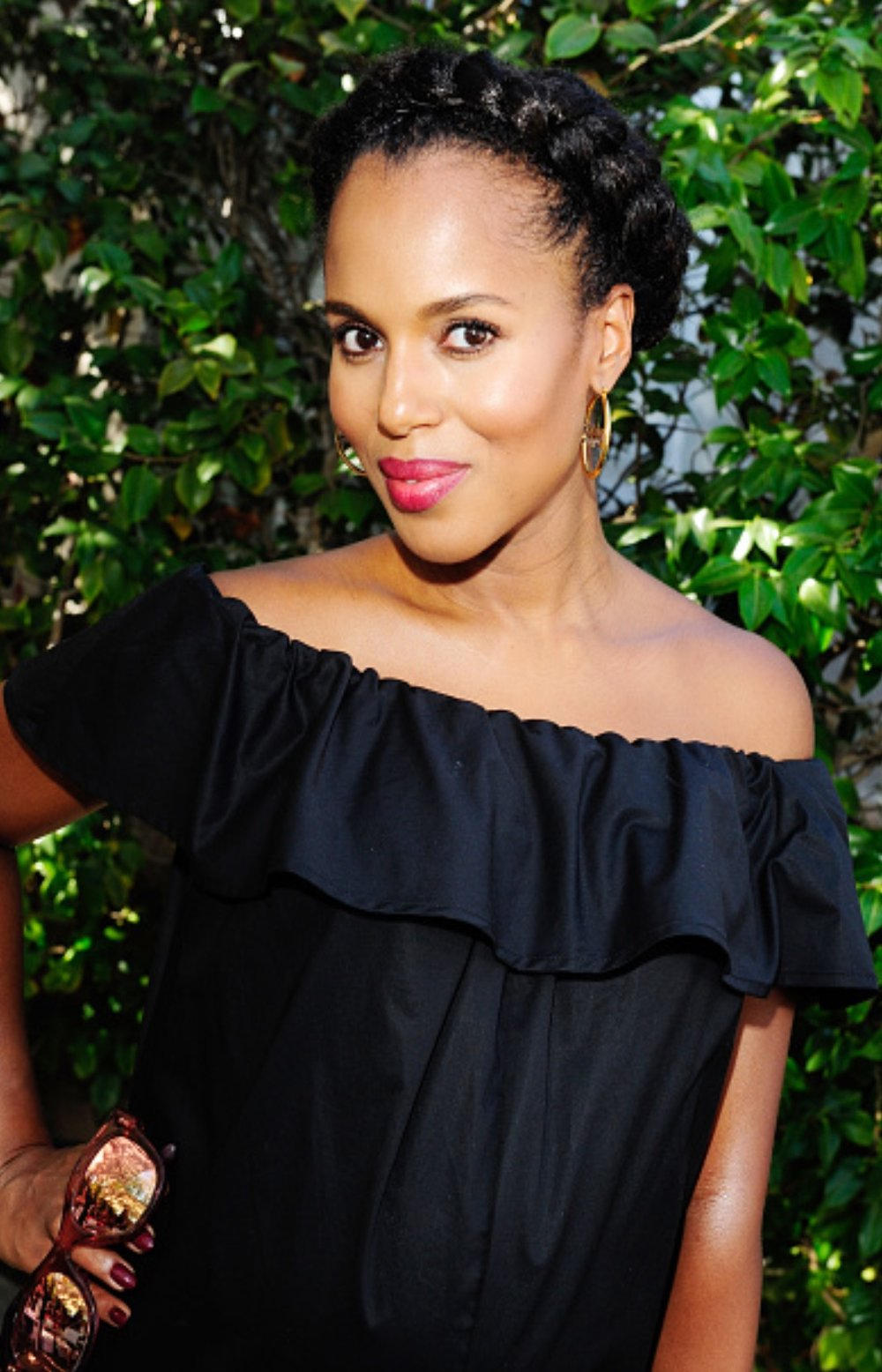 Kerry Washington Braid Crown