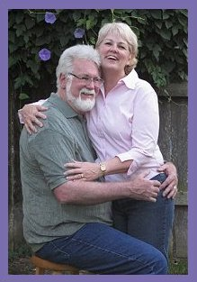 Mort with his wife Terri Lynch Solberg    Photo By Scott Solberg