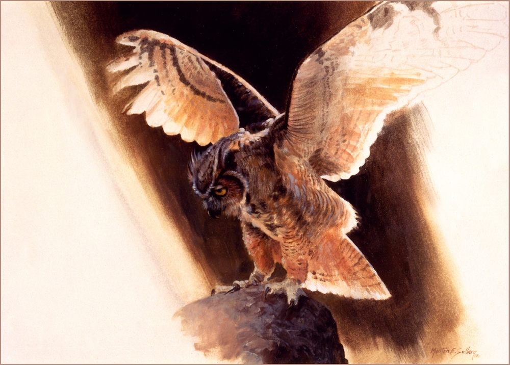 Food habits of Great Horned Owls in northeastern ...