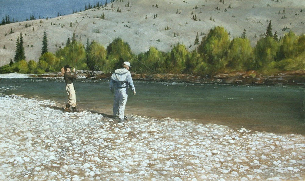"""Fishing Wyoming"""
