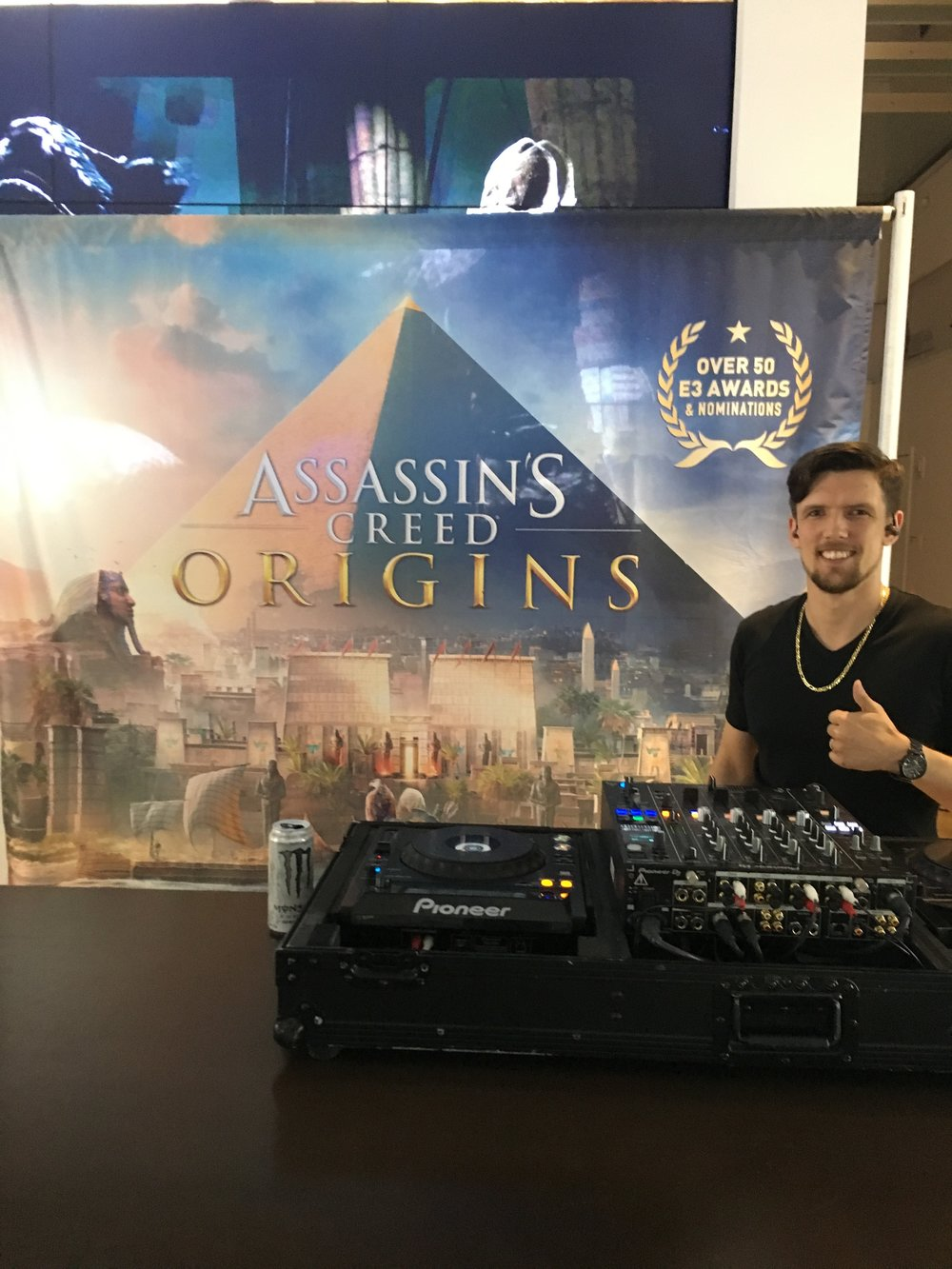DJ CoolHand Assassins Creed Origins Microsoft Store NYC 1.jpeg