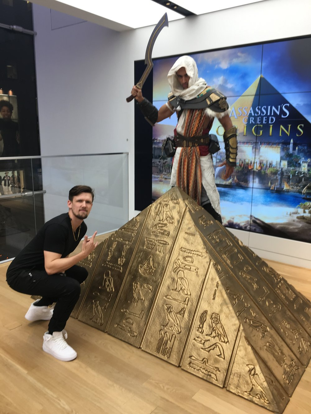 DJ CoolHand Assassins Creed Origins Microsoft Store NYC 2.jpeg
