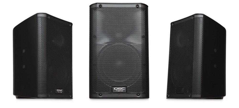 QSC K8 Speakers