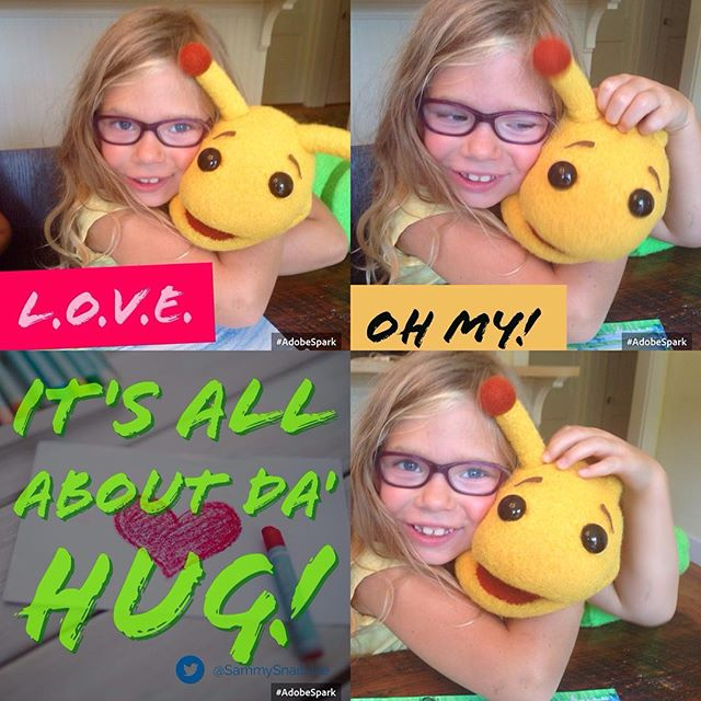 Hugs change the world! #love #joy #hugs #thesammysnail #heartpower #happy