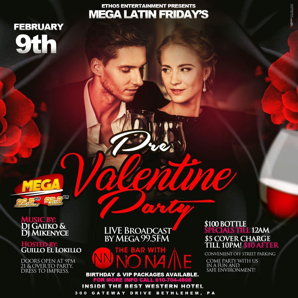 Mega Latin Friday's with Etho5 Entertainment