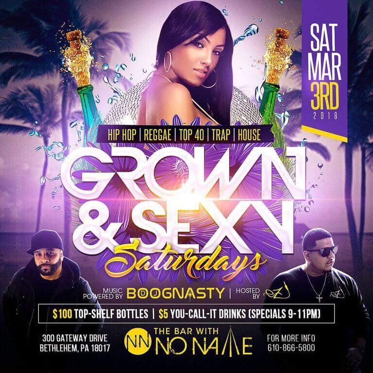 Grown & Sexy Saturdays 3-3-18