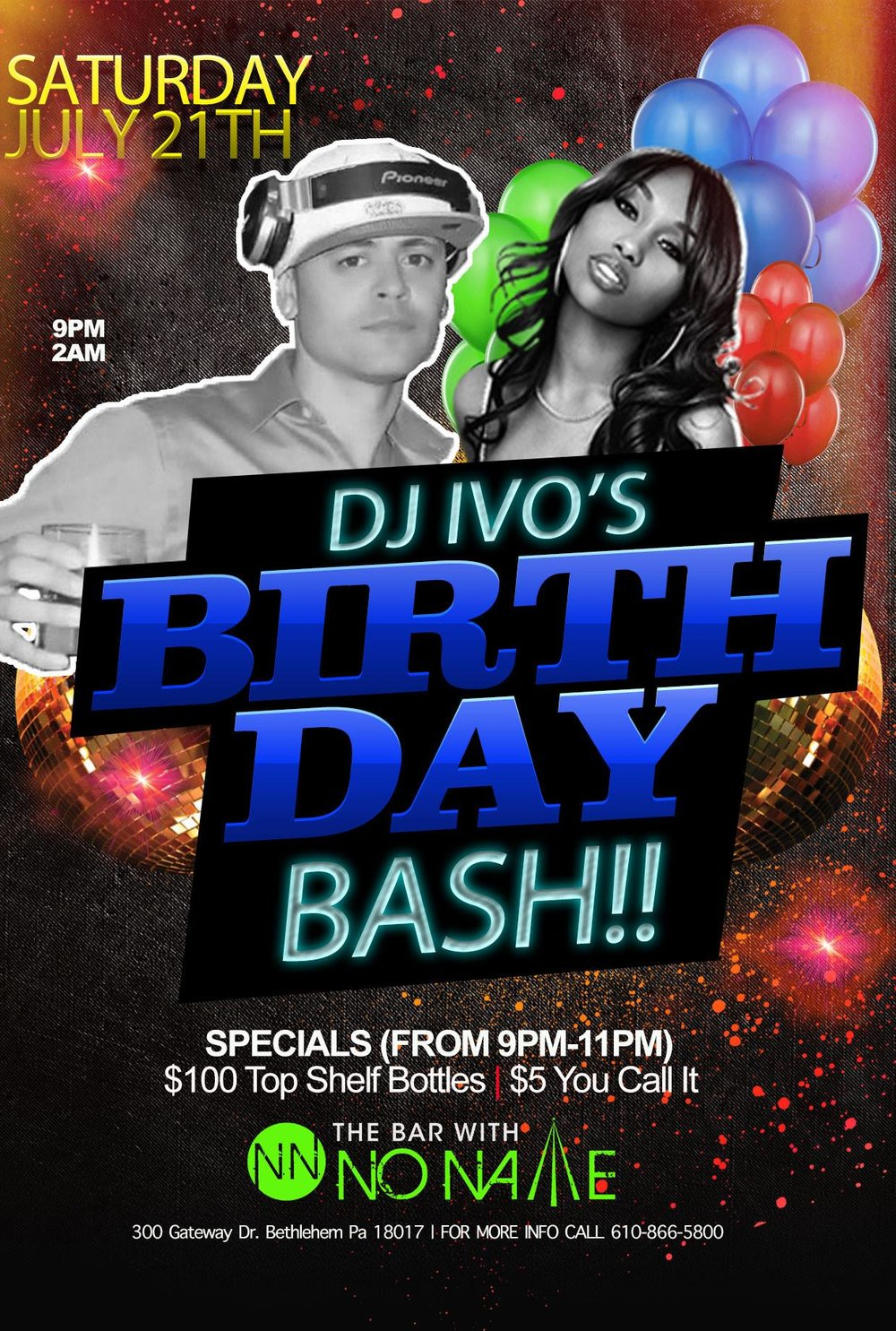 JD IVO's Birthday Bash