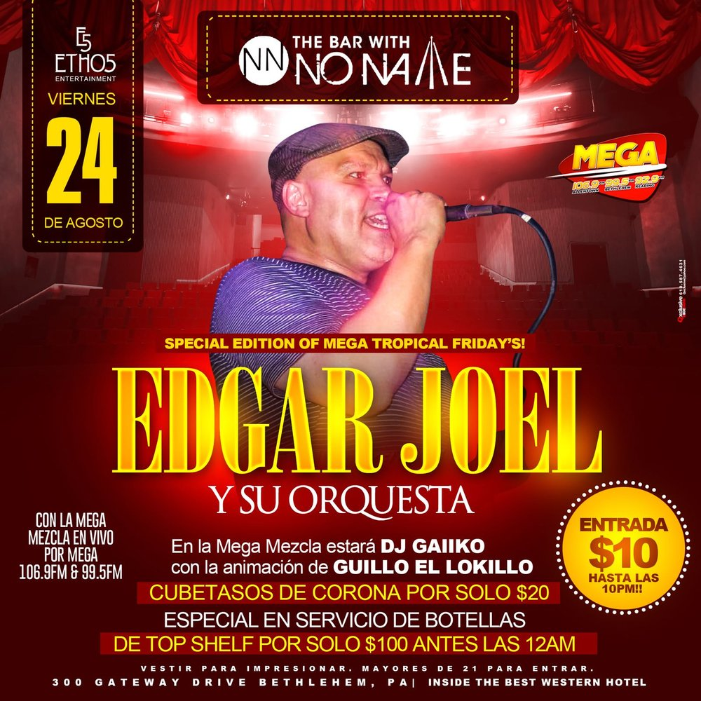 Special edition of tropical friday swith Edgar Joel