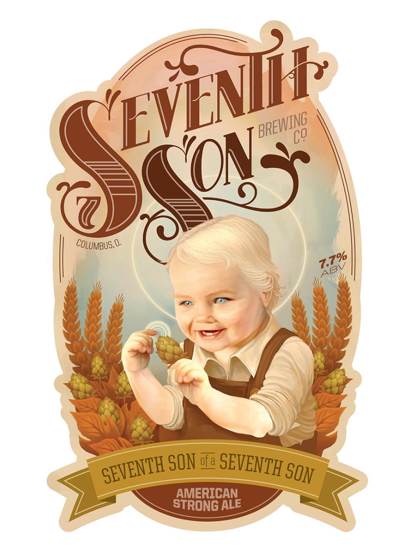 Seventh Son Brewing Co.  - Label Concept - 2011