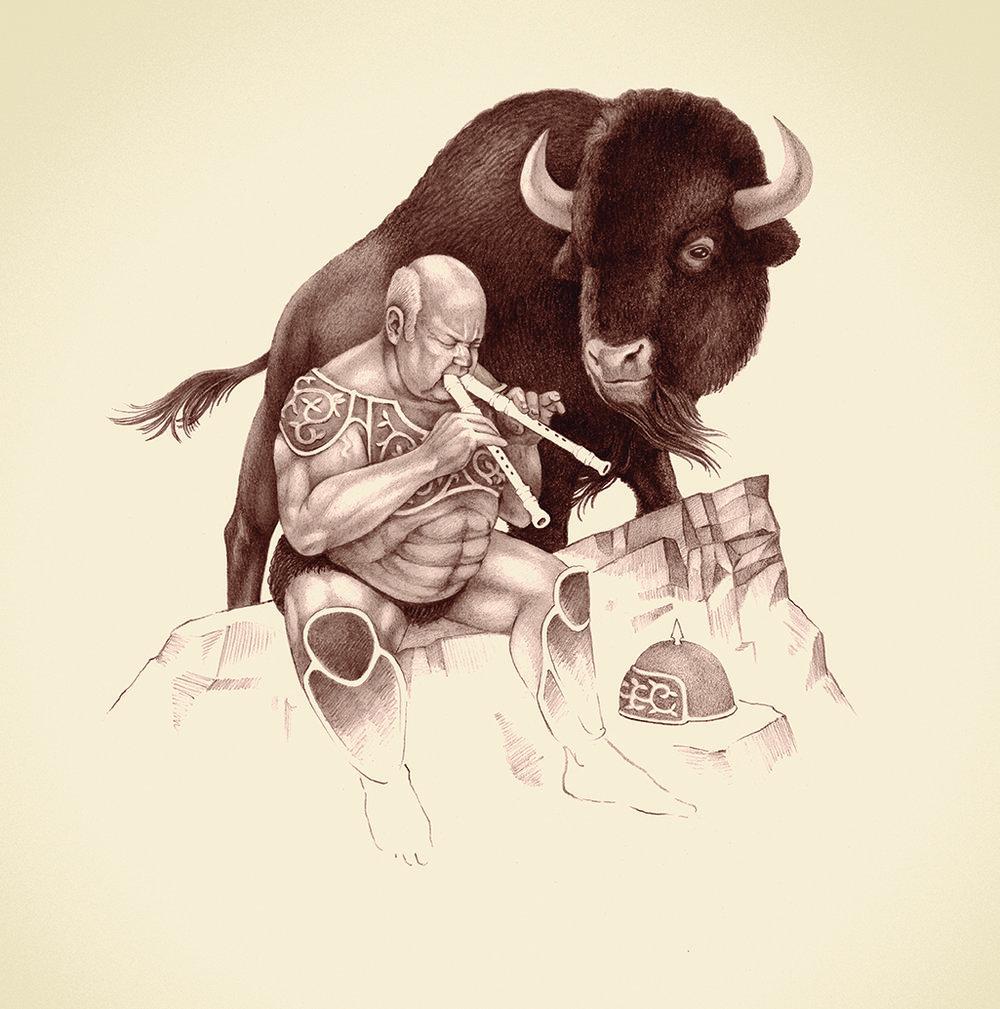 Kyle Gass Band, Thundering Herd LP - 2016