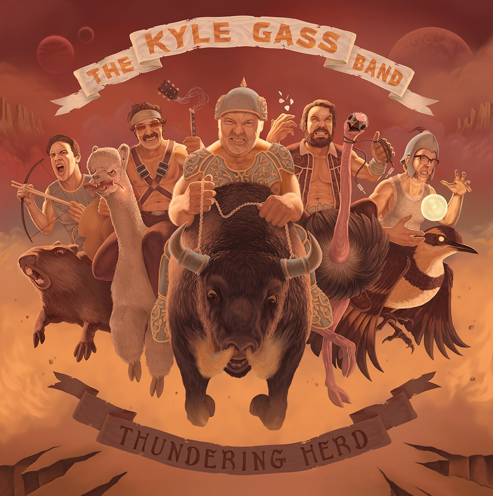 Kyle Gass Band, Thundering Herd LP, 2016