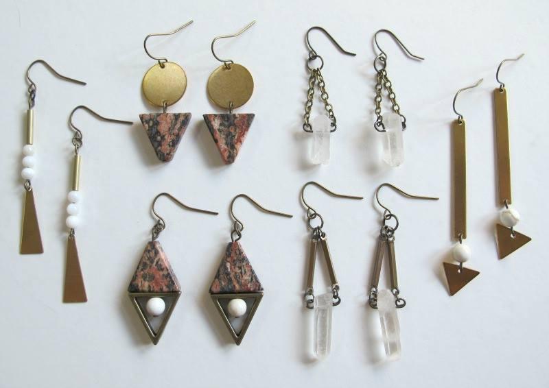 Earrings by Luxe Debris