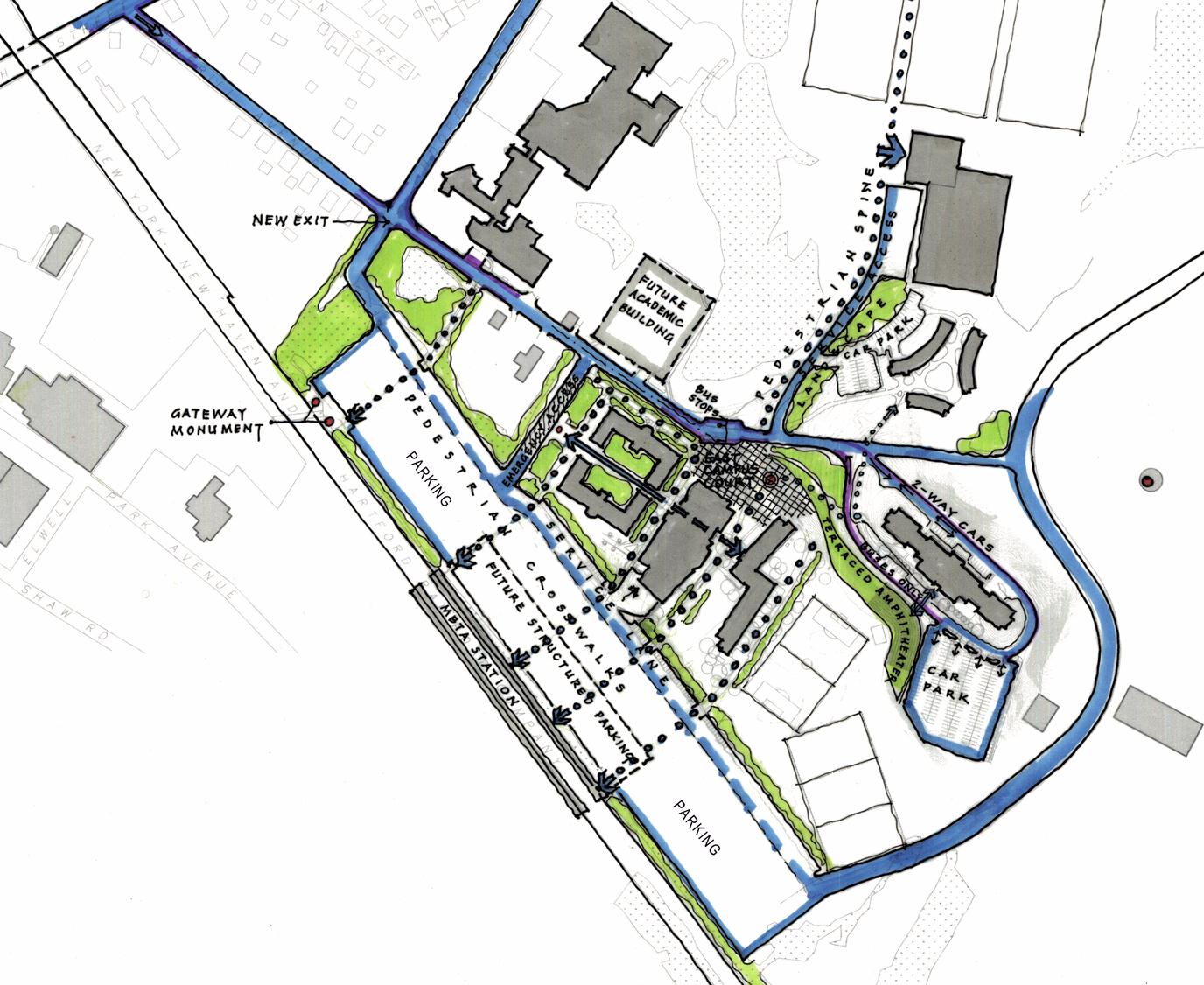 Bridgewater State Campus Planning Pra Architects