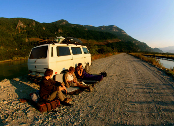 Squamish VanLife circa 2010