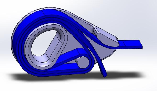 Figure 1 - 1.5 Webbing Wrap