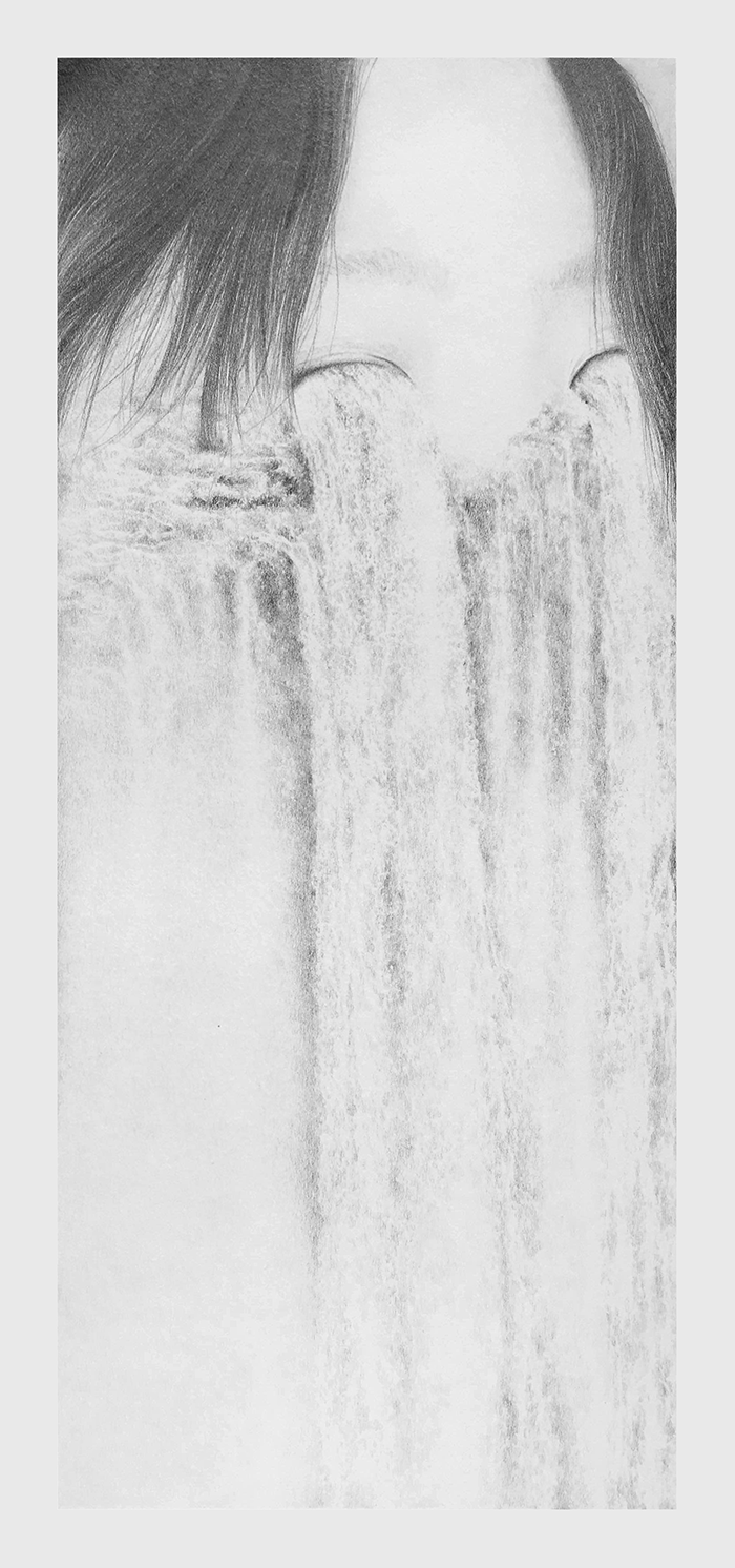 deep pools pencil on paper april 2016