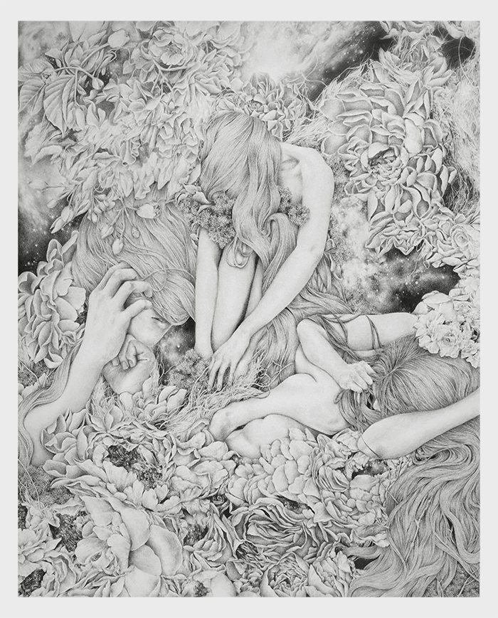 slow-growing  pencil on paper march 2016