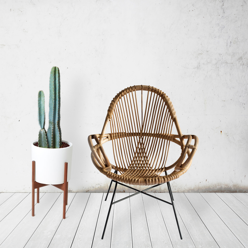 Diamond Rattan Chair Wend Studio