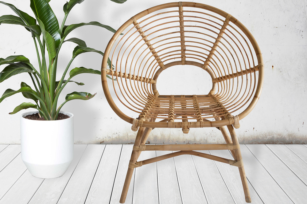 Ring Rattan Chair