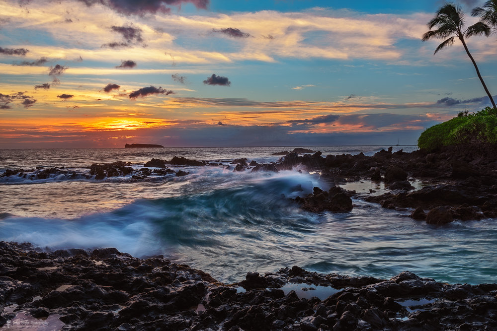 Maui Sunset at Secret Beach
