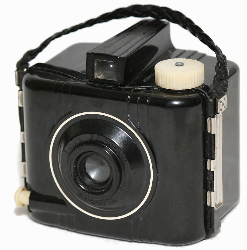 - Kodak Baby Brownie*The first camera I used as a youth.