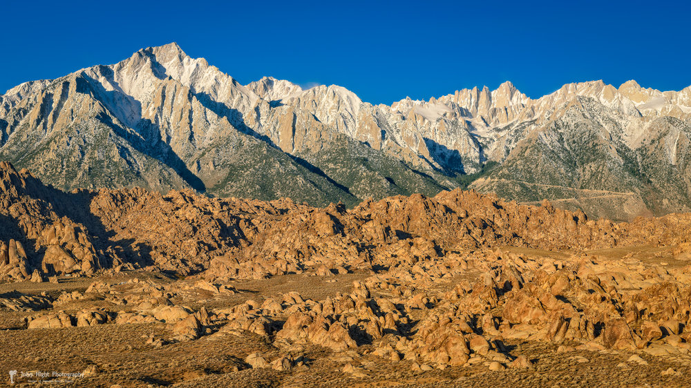 Alabama Hills Sierra View